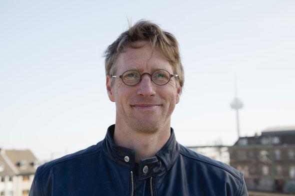 Harald Schuster hatte die Idee zum REWK - Rad Express Wege in Köln