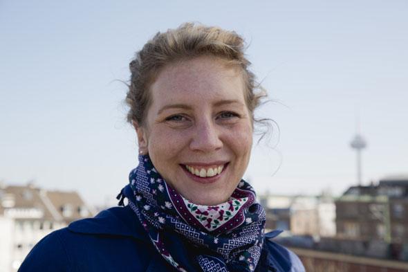 Katharina Feldkamp ist Vorsitzende der Wählergruppe DEINE FREUNDE
