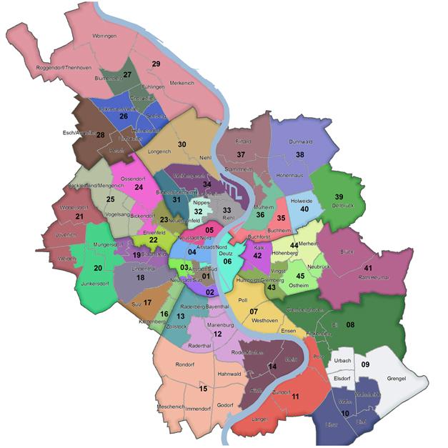 Köln Wahlkreise